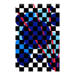 Blue abstraction Shower Curtain 48  x 72  (Small)