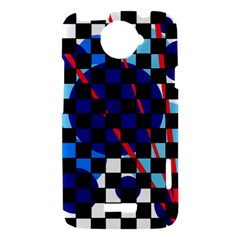 Blue abstraction HTC One X Hardshell Case