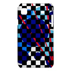Blue abstraction Samsung Galaxy S i9008 Hardshell Case