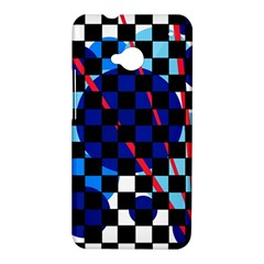 Blue abstraction HTC One M7 Hardshell Case