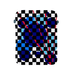 Blue abstraction Apple iPad 2/3/4 Protective Soft Cases