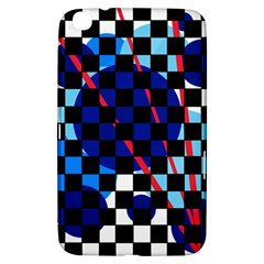 Blue abstraction Samsung Galaxy Tab 3 (8 ) T3100 Hardshell Case