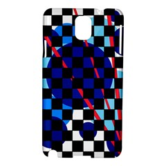 Blue abstraction Samsung Galaxy Note 3 N9005 Hardshell Case