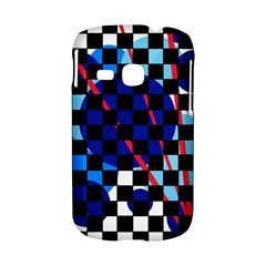 Blue abstraction Samsung Galaxy S6310 Hardshell Case