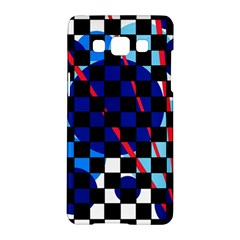 Blue abstraction Samsung Galaxy A5 Hardshell Case