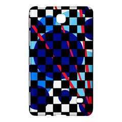 Blue abstraction Samsung Galaxy Tab 4 (7 ) Hardshell Case