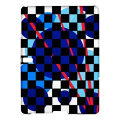 Blue abstraction Samsung Galaxy Tab S (10.5 ) Hardshell Case
