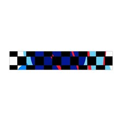 Blue abstraction Flano Scarf (Mini)
