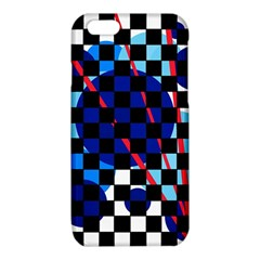 Blue abstraction iPhone 6/6S TPU Case