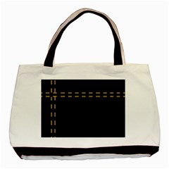 Elegant design Basic Tote Bag (Two Sides)