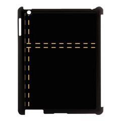 Elegant design Apple iPad 3/4 Case (Black)