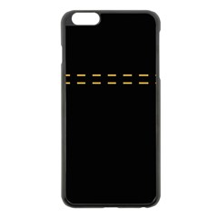 Elegant design Apple iPhone 6 Plus/6S Plus Black Enamel Case