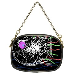 Neon Fish Chain Purses (one Side)