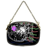 Neon fish Chain Purses (One Side)  Front