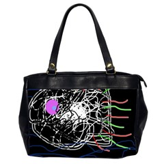Neon fish Office Handbags (2 Sides)
