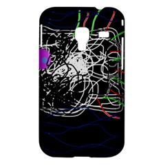 Neon fish Samsung Galaxy Ace Plus S7500 Hardshell Case