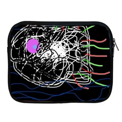 Neon fish Apple iPad 2/3/4 Zipper Cases