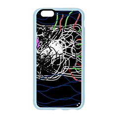 Neon fish Apple Seamless iPhone 6/6S Case (Color)