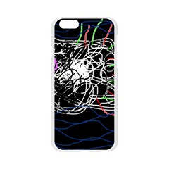 Neon fish Apple Seamless iPhone 6/6S Case (Transparent)