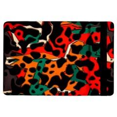 Metallic shapes in retro colors                                                                                     Apple iPad Air Flip Case