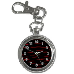 Red and black Key Chain Watches