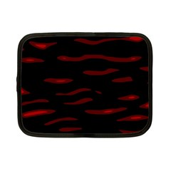 Red and black Netbook Case (Small)