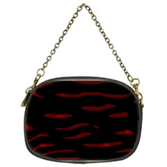 Red and black Chain Purses (One Side)