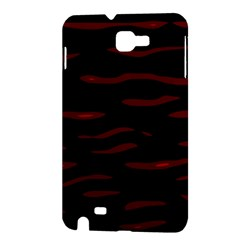 Red and black Samsung Galaxy Note 1 Hardshell Case
