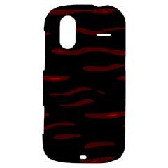 Red and black HTC Amaze 4G Hardshell Case