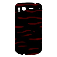 Red and black HTC Desire S Hardshell Case