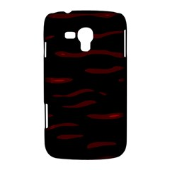 Red and black Samsung Galaxy Duos I8262 Hardshell Case
