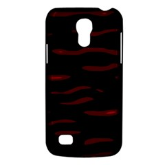Red and black Galaxy S4 Mini
