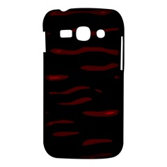 Red and black Samsung Galaxy Ace 3 S7272 Hardshell Case