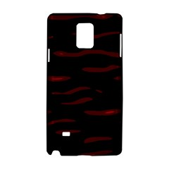 Red and black Samsung Galaxy Note 4 Hardshell Case