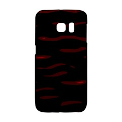 Red and black Galaxy S6 Edge