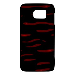 Red and black Galaxy S6