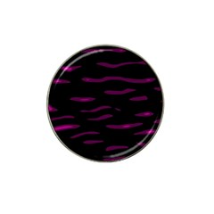 Purple and black Hat Clip Ball Marker