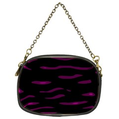 Purple and black Chain Purses (One Side)