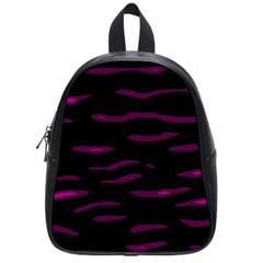 Purple and black School Bags (Small)