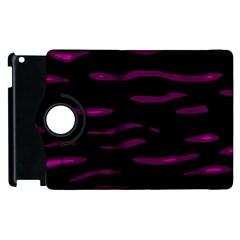 Purple and black Apple iPad 2 Flip 360 Case