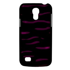 Purple and black Galaxy S4 Mini