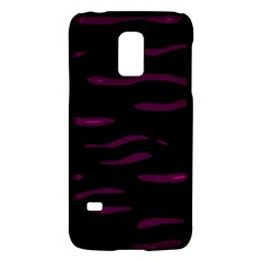 Purple and black Galaxy S5 Mini