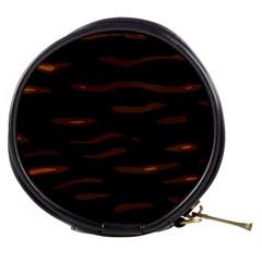 orange and black Mini Makeup Bags