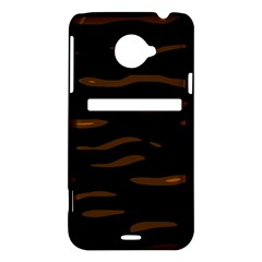 orange and black HTC Evo 4G LTE Hardshell Case