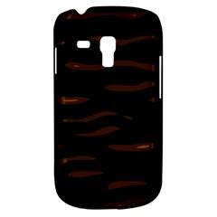 orange and black Samsung Galaxy S3 MINI I8190 Hardshell Case