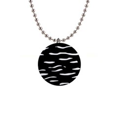 Black and white Button Necklaces