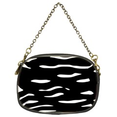Black and white Chain Purses (Two Sides)
