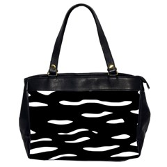 Black and white Office Handbags (2 Sides)