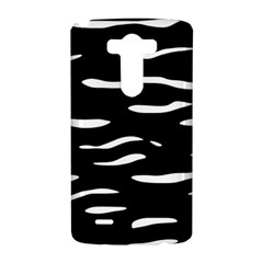 Black and white LG G3 Hardshell Case
