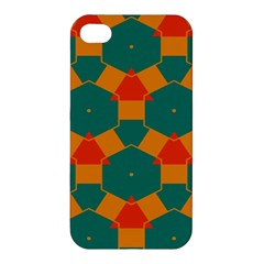 Honeycombs and triangles pattern                                                                                      Apple iPhone 4/4S Hardshell Case